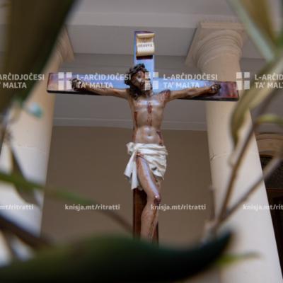 Quddiesa ta' Ħadd il-Palm mill-Kappella tal-Madonna ta' Manresa, il-Kurja tal-Arċisqof – 05/04/20