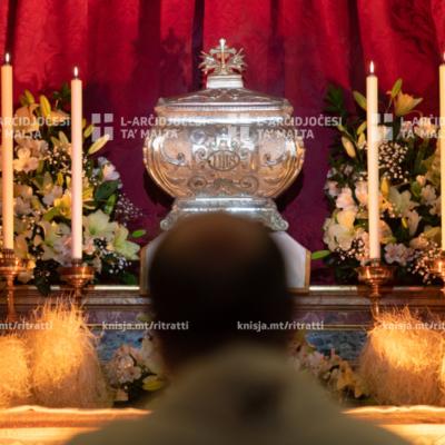 Ħamis ix-Xirka – Quddiesa u Adorazzjoni mill-Kappella tal-Madonna ta' Manresa – 09/04/20