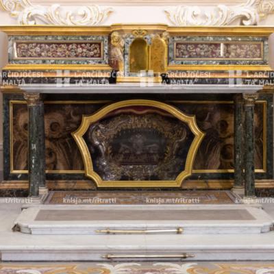 Liturġija tas-Sigħat immexxija minn Mons. Arċisqof mill-Kappella tal-Madonna ta' Manresa, fil-Kurja – 10/04/20