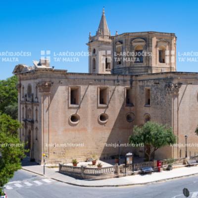 Ftehim għar-restawr tal-Knisja l-Qadima ta' Birkirkara – 08/05/20