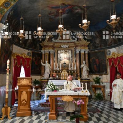 Quddies fil-Ħames Ħadd tal-Għid u Jum l-Omm mis-Santwarju tal-Madonna tal-Mellieħa – 10/05/20