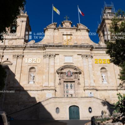 Quddiesa fil-200 anniversarju mit-twaqqif tal-Knisja Kolleġġjata ta' San Lawrenz, il-Birgu – 15/06/20