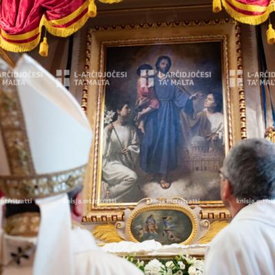 Quddiesa Pontifikali fil-festa ta' San Ġużepp fIl-Knisja Parrokkjali ta' San Leonardu, Ħal Kirkop – 12/07/20