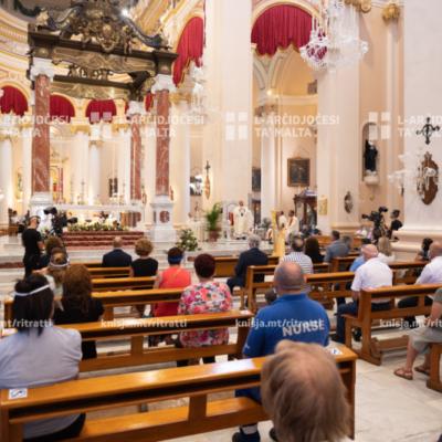 Quddiesa ta' radd il-ħajr lil Alla għall-frontliners fil-qasam tas-saħħa – 30/07/20