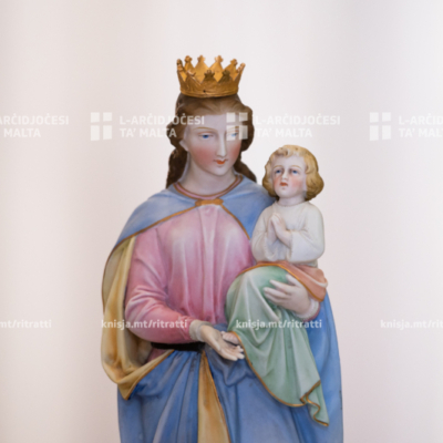 L‑Arċisqof iċċelebra Quddiesa Pontifikali fil‑festa ta' Santa Marija, fil‑Katidral ta' San Pawl, l‑Imdina – 15/08/20