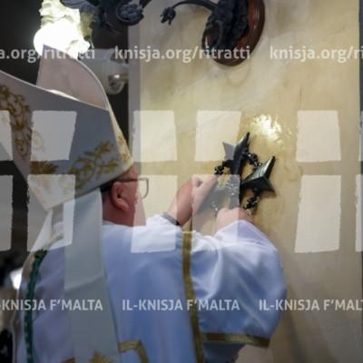 Konsagrazzjoni tal-artal u l-Knisja tas-Salib Imqaddes (Tal-Kapuċċini) – 12/03/17