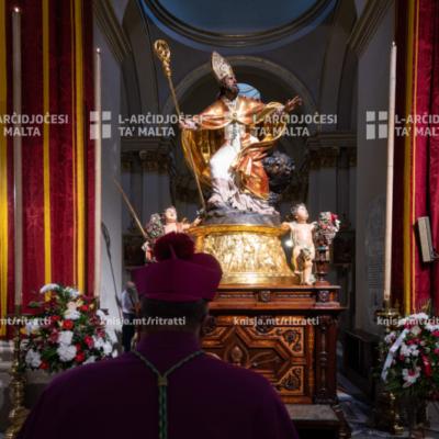 Quddiesa Pontifikali fil‑festa ta' San Publiju, fil‑Knisja Parrokkjali ta' San Publiju, il‑Furjana – 23/08/20