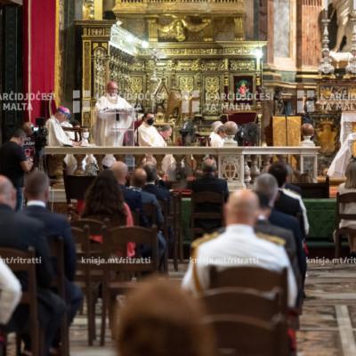 Pontifikal Statali fil-festa nazzjonali ta' Jum l-Indipendenza – 21/09/20