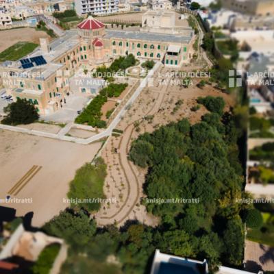 Konferenza tal-aħbarijiet dwar it-tħawwil ta' 1,400 siġra minn Infrastruttura Malta, fid-Dar tal-Kleru, Birkirkara – 08/10/20