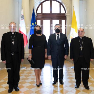 L-Isqfijiet laqgħu lill-Kap tal-Oppożizzjoni għal żjara ta' korteżija – 10/10/20