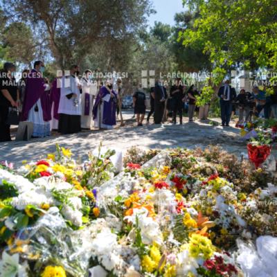 Quddiesa fit‑Tifkira tal‑Mejtin Kollha, fiċ‑Ċimiterju tal‑Addolorata, Raħal Ġdid – 02/11/20