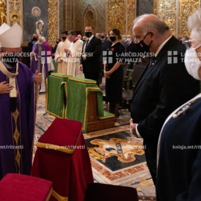 Quddiesa f'Jum it‑Tifkira, fil‑Konkatidral ta' San Ġwann, il‑Belt Valletta – 08/11/20