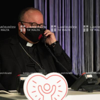 Ftuħ ta' maratona b'rizq il-Caritas Malta – 14/07/20