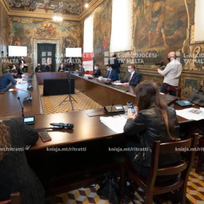 Preżentazzjoni tar-rapport Beyond GDP – A Framework to gauge Malta's success through Quality of life' mill-Kummissjoni Ġustizzja u Paċi – 20/11/20