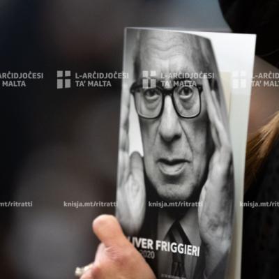 Quddiesa tal-funeral mill-Istat ta' Prof. Oliver Friggieri – 25/11/20