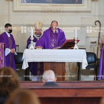 Quddiesa fit-tieni Ħadd tal-Avvent u l-pussess ta' Dun Gordon Refalo bħala l-kappillan il-ġdid tal-parroċċa tal-Gżira – 06/12/20