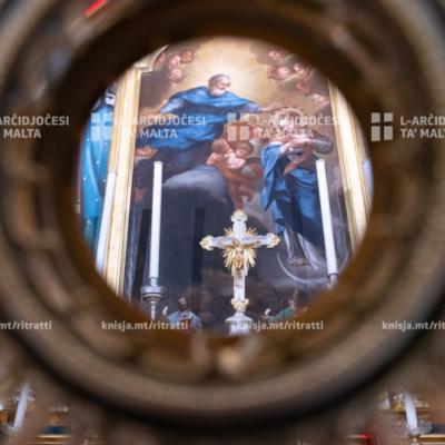 Quddiesa fis-solennità tat-Tnissil bla Tebgħa tal-Verġni Mqaddsa Marija -08/12/20