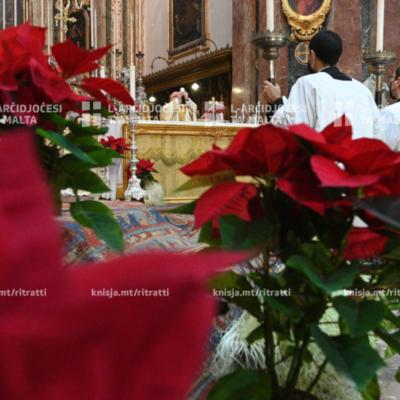 Quddiesa Pontifikali fis-Solennità tat-Twelid ta' Sidna Ġesù Kristu – 25/12/20