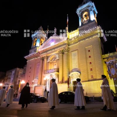 Quddiesa f'għeluq il‑100 sena tal‑Bażilika ta' Marija Bambina, l‑Isla – 03/01/21
