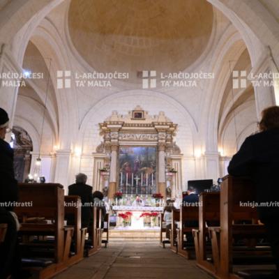 Quddiesa fil-Magħmudija tal-Mulej, mill-Knisja ta' San Girgor, iż-Żejtun – 10/01/21