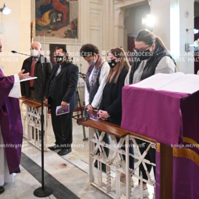 Quddiesa fit-Tielet Ħadd tar-Randan miIl-Kappella tal-Bon Pastur, Ħal Balzan – 07/03/21